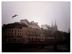 Quimper - foggy morning - Brittany - Bretagne - lomo