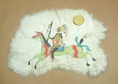Early drawing -1800's - Lakota
