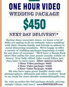 Check out this new photo Wedding Videos, Videography, Check, Life