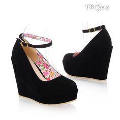 sapatos para damas de honra salto preto - Pesquisa Google