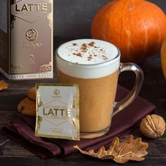 Pumpkin Spice Latte, A Pumpkin, Pumpkin Puree, Non Dairy Creamer, Iced Latte, Mocha, Spices, Arabica Robusta, Tableware