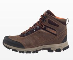 Upgrade his trail footwear with the Helly Hansen Rapide Mid HTXP Leather Boots. After several 8-milers into the mountains in a variety of temperatures—cool and wet to hot and dry—our tester was impressed with the protection and support under moderate pack loads. The soft EVA foam give these sturdy leather boots a dose of comfort that will be welcome unless you're really schlepping some weight.
