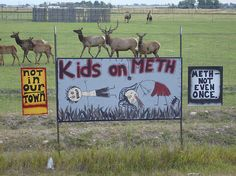 Do-It-Yourself Anti-Meth Campaigns in Small Towns (click thru for analysis)
