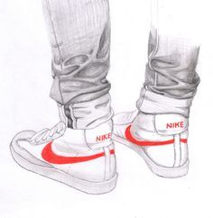 how to draw shoes from the back | Valuable objects - Nike air max @nike #nike #sport #style #fashion # ...