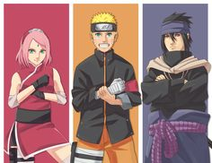 Team 7 Naruto The Last Movie