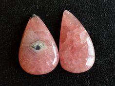 2 Pcs Pink Rhodochrosite Stone,Rhodochrosite Cabochon Gemstone,Handmade Gemstone,Rhodochrosite Finding,Loose Gemstone#10115 by dhorgems on Etsy