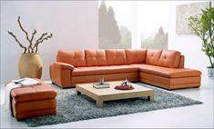 Corner Sectional Sofa Set with Ottoman, Lounge