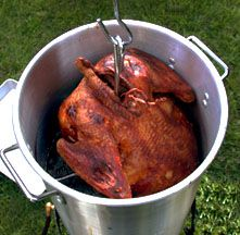 Deep Fried Turkey- had it once (delicious!) and I'm so doing this this year.