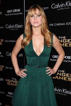 Jennifer Lawrence Sexy Actress!