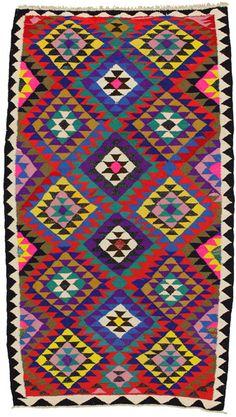 Qashqai - Kilim | klm1988-412 | CarpetU2 - Kilims with cotton, Summer Sale -60%