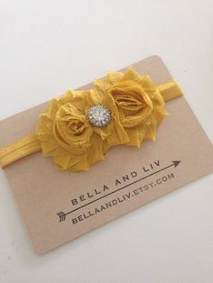 Headband display card.  Follow me on OG: @ bellaandlivshop