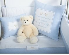 personalized baby pillows - baby keepsake gifts