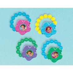Amazon.com: Dora the Explorer Lip Gloss Bracelets 4ct: Toys & Games