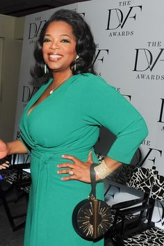 Oprah Winfrey in DVF  Photo courtesy of the Billy Farrell Agency