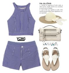 """""""Yoins #1"""" by oliverab ❤ liked on Polyvore featuring beach, vacation, yoins, yoinscollection and loveyoins"""