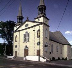 Eglise Saint-Charles-Borromee, Charlesbourg, Quebec, 1828-30.