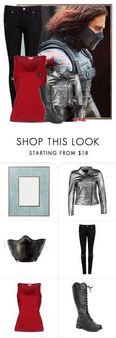 """""""The Winter Soldier"""" by the-forgotten-wolf ❤ liked on Polyvore featuring OKA, Brigitte Bardot, Ted Baker, P.A.R.O.S.H. and Hot Topic"""
