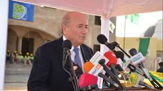 While much of the football world remains transfixed by the 2013 CAF Africa Cup of Nations, FIFA President Joseph S. Blatter has begun a six-day visit to the continent, kicking off his trip in Mauritania.