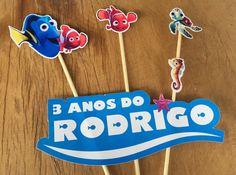 Festa Procurando Nemo ou Procurando Dory by Design Festeiro