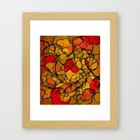 pattern 11 Framed Art Print