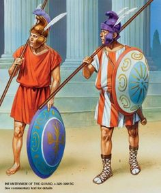 Alexander the Great - Hypaspists, 325 - 300 BC