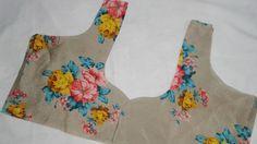 Heart Neck Design Cutting and Stitching # Blouse # Kurti # Salwa. Blouse Neck Patterns, Dress Sewing Patterns, Blouse Styles, Blouse Designs, Sewing Tutorials, Sewing Projects, T Shirt Tutorial, Gold Work, Sew Dress