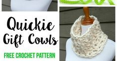 Need a 30 minutes or less quick gift? You've come to the right place!  The Quickie Gift Cowl is toasty warm and fun to make.  Chu...