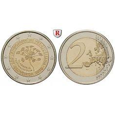 Slowenien, 2 Euro 2010, bfr.: 2 Euro 2010. Botanischer Garten Ljubljana. bankfrisch 5,00€ #coins