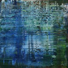 """Koen Lybaert; Oil 2014 Painting """"abstract N° 990"""""""