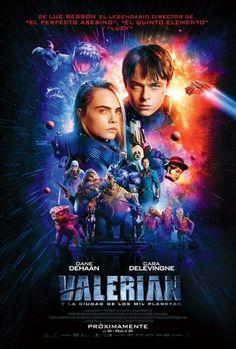 'Valerian e a Cidade dos Mil Planetas' ganha cartaz mega colorido | CinePOP