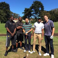 Came out to support Steph at his golf tourney with @money23green @Heather Barnes @kentbazemore20 #GSW (via @Dlee042, Instagram)