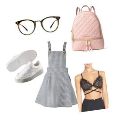 """""""Nerdly sexy"""" by sarahssmba on Polyvore featuring Puma, MICHAEL Michael Kors, Ace and For Love & Lemons"""