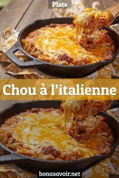 Chou à l'italienne : une recette de plat facile – Page 3 – Bon À Savoir
