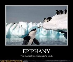demotivational posters - EPIPHANY.