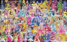 Just watched Precure All Star Movie with the Mahoutsukai girls in it! At the bottom ⬇️ there will be a list for all the Precure animes! I didn't watch all of them! (Recent to old) 1. Mahoutsukai Precure 2. Go! Princes Precure 3. Happiness Charge Precure 4. Doki Doki Precure 5. Smile Precure 6. Suite Precure 7. Heart Catch Precure 8. Fresh Pretty Cure 9. Max Precure 10. Yes! Precure 5 11. Yes! Precure 5 GoGo! 12. Pretty Cure Splash Star 13. Futari wa Precure