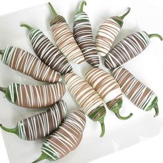 We just don't know what to think about chocolate covered jalapenos - weird!