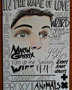 Martin Garrix fanart➕❌
