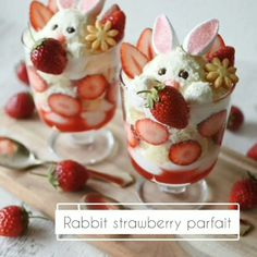 Easter Recipes, Brunch Recipes, Holiday Recipes, Holiday Foods, Strawberry Parfait, Easter Celebration, Easter Brunch, Easter Treats, Cute Food