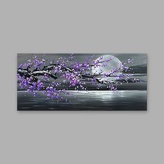 DIY Abstract Heart Painting and a Fun Paint Party - landscape Canvas Painting Designs, Oil Painting On Canvas, Painting & Drawing, Canvas Art, Canvas Size, Landscape Paintings On Canvas, Paintings Of Landscapes, Watercolor Painting, Purple Painting