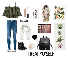 """""""Natur"""" by albertenowak on Polyvore featuring Frame, Red Herring, Brioni, Ashlyn'd, Fallon, Morphe, Anastasia Beverly Hills and Rifle Paper Co"""