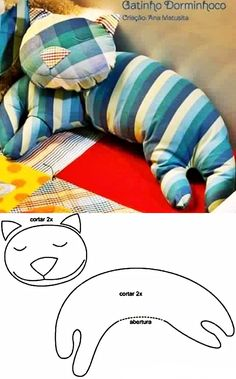 Here are 17 cutest and creative DIY pillow ideas for you. They all look so cute and comfortable. They are perfect to cuddle, play or decorate your home. Sewing Toys, Baby Sewing, Sewing Crafts, Sewing Projects, Make Your Own Pillow, How To Make Pillows, Sewing Pillows, Diy Pillows, Pillow Ideas