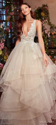 Wedding dress by Galia Lahav Couture Bridal - Fall 2018 - Florence by Night - Mila