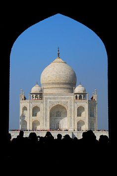 Taj Mahal by bsmethers, via Flickr