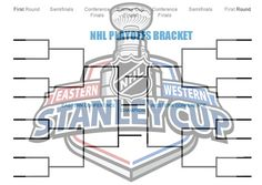 Free printable NHL brackets for this years NHL hockey playoff games.  The road to the Stanley Cup - At the end of every NHL regular season, the league announces the playoff schedule in April to take place in the subsequent months.