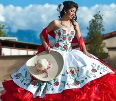 Mexican quinceañera. Charra Inspired Quinceañera . Mexican Quinceanera Dress. Quince Dress. Vestido Mexicano by MexiCouture on Etsy https://www.etsy.com/listing/466132159/mexican-quinceanera-charra-inspired