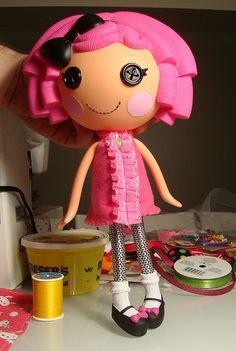 Lalaloopsy Mod Pink Dress by ElwynnHarper, via Flickr