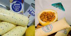 Receita de sacole cremoso de maracujá, apenas 4 ingredientes, muito fácil, para fazer e vender. Essa delícia também é conhecida como sacolé, flau, laranjinha e muitos outros nomes por todo o Brasil.