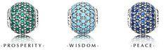 and Essence Pavé charms. Pandora Essence Collection, Bracelet Designs, Pandora Charms, Delicate, Charmed, Bracelets, Jewerly, Wisdom, Peace