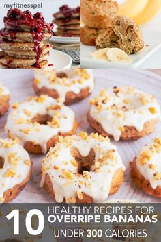 10 Healthy Recipes for Overripe Bananas Under 300 Calories
