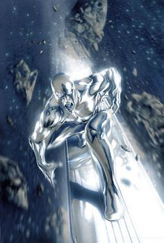 Space Traveling Silver Surfer